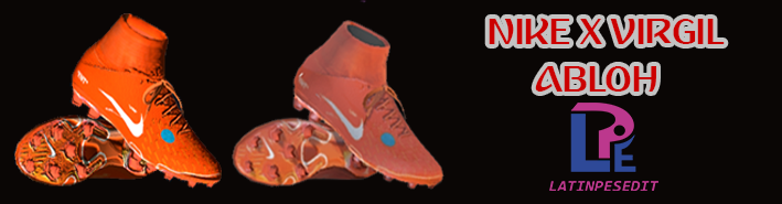 PES 17 / 18 Mercurial Virgil Abloh Boots by LATINPESEDIT