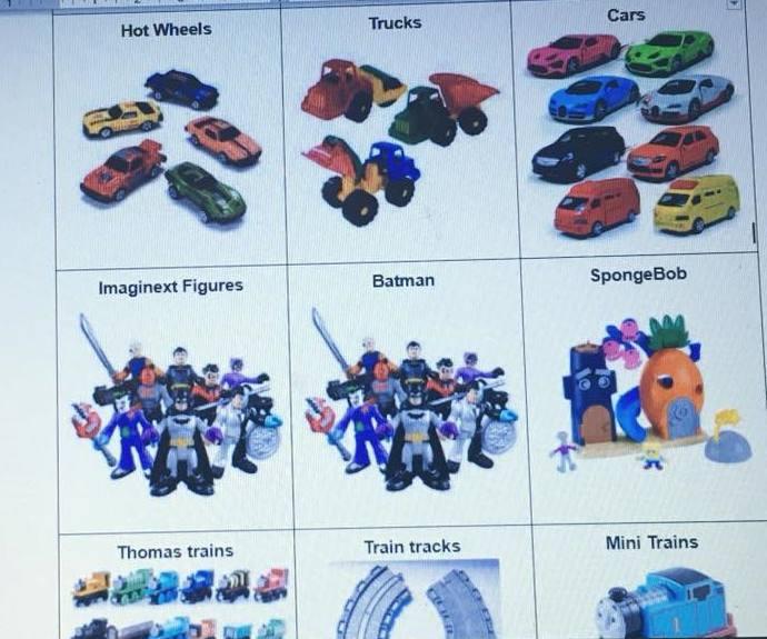 New Freebie - Printable Toy Storage Labels Wonderfully Chaotic