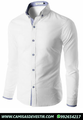 Camisa Blanca Slim Fit Trujillo