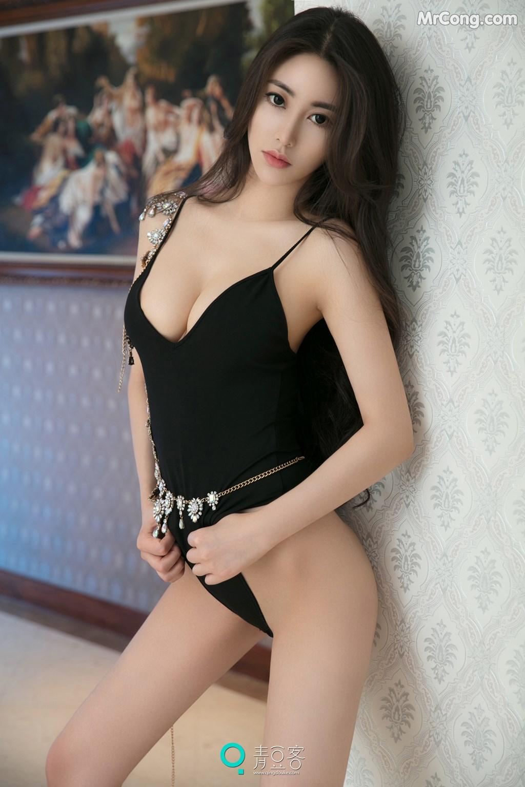 Image QingDouKe-2017-08-03-Mu-Fei-Fei-MrCong.com-013 in post QingDouKe 2017-08-03: Người mẫu Mu Fei Fei (穆菲菲) (53 ảnh)