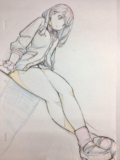 drawing rikka takarada