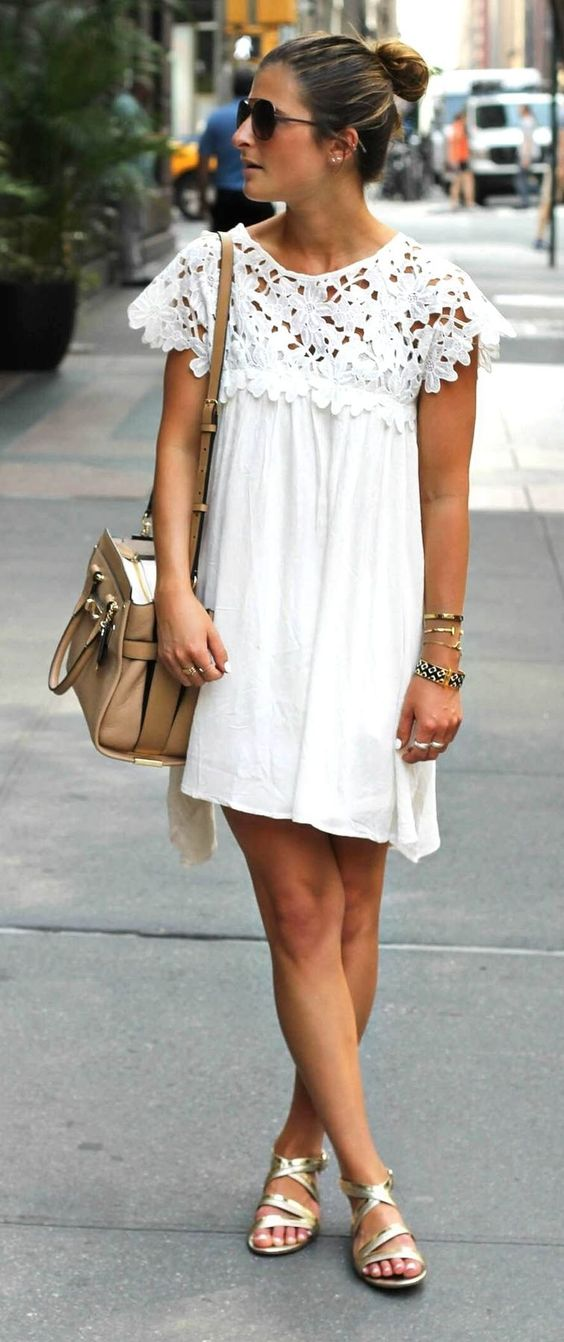 white dress fall outfits