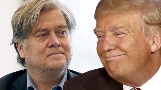 Trump sacks chief strategist Stephen Bannon