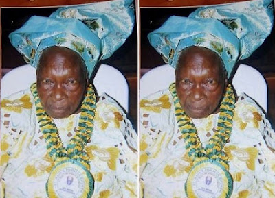 Ooni Of Ife Loses Grandmother (Photo)