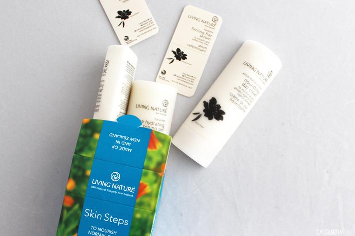 LIVING NATURE // Skin Steps Kits - CassandraMyee