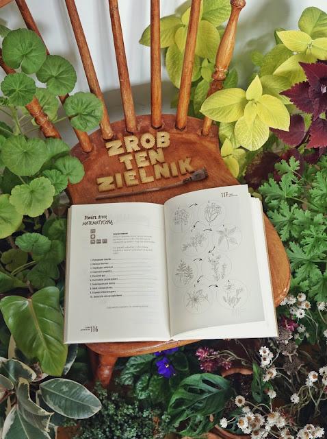 książka o roślinach zielnik