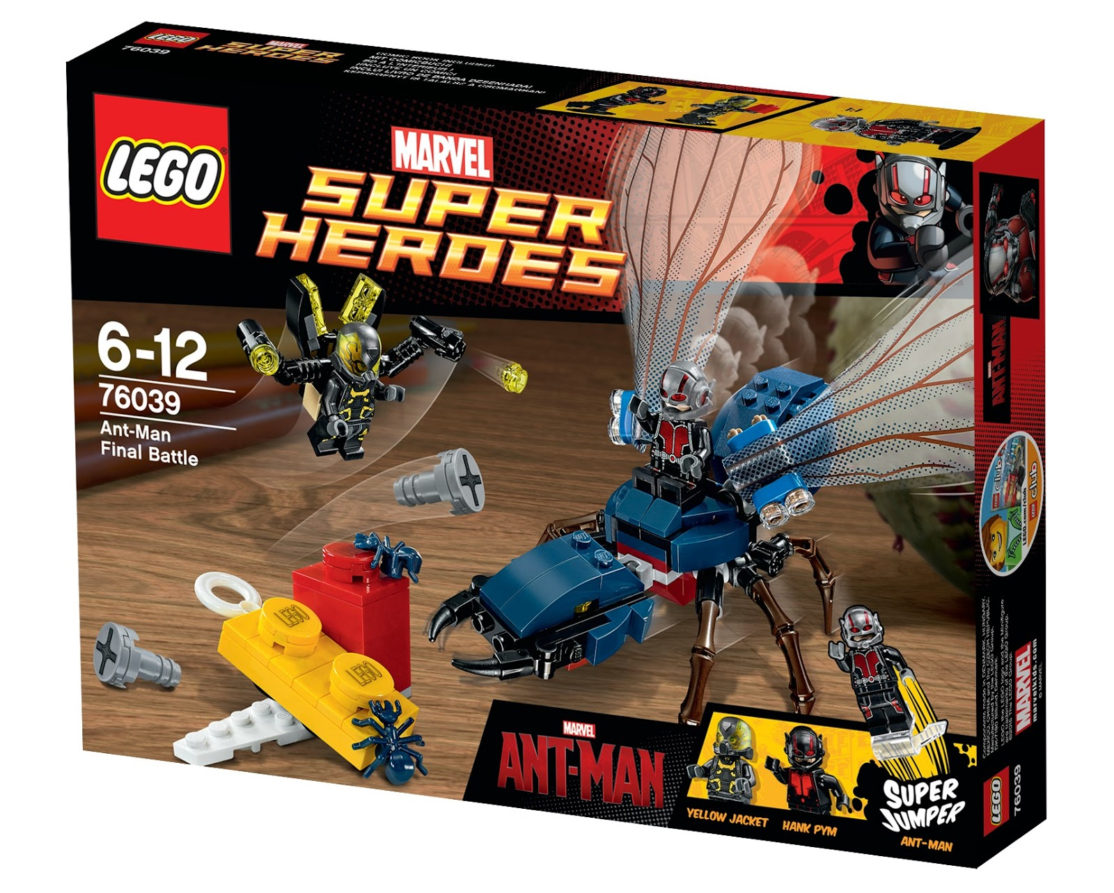 LEGO Marvel Super Heroes Ant-Man Set Release | This Is Life