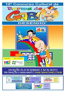 Concurso Cultural da Turma do Gabi 2017