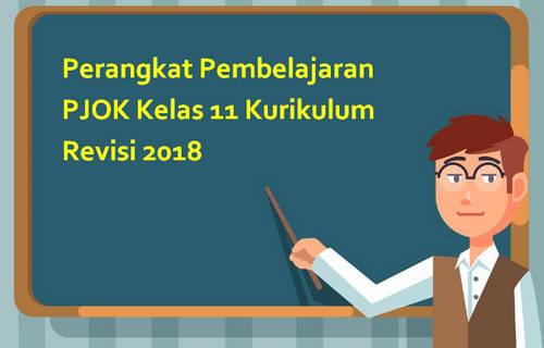 Perangkat Pembelajaran PJOK Kelas 11 Kurikulum Revisi 2018