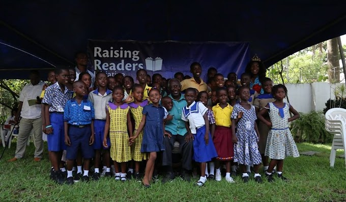 Former president John Agyekum Kufuor commends Raising Readers initiative