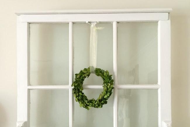 Repurposed Window Shelf