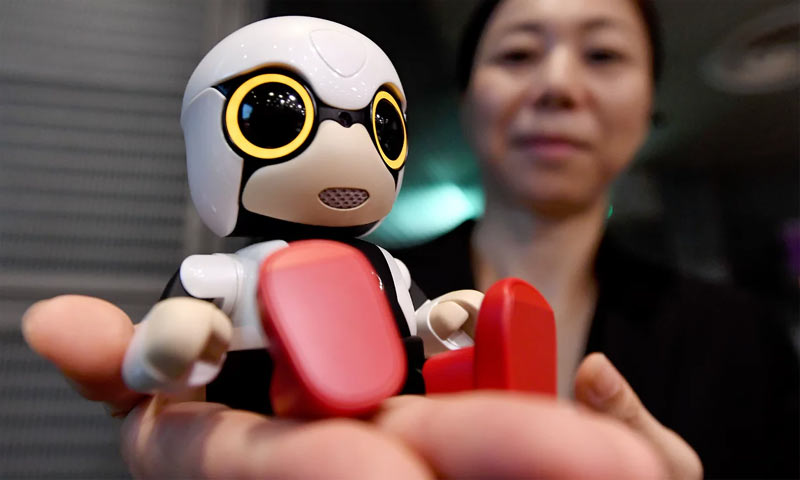 Japanese engineers unveil baby robot for childless couples