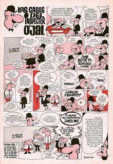 Primera página de El Inspector O'Jal, DDT 3ª nº 76