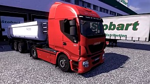 Euro Truck Simulator 2 version 1.4.1 - Iveco Hi Way Test Drive