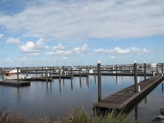 Marina en el Lake Okeechobee