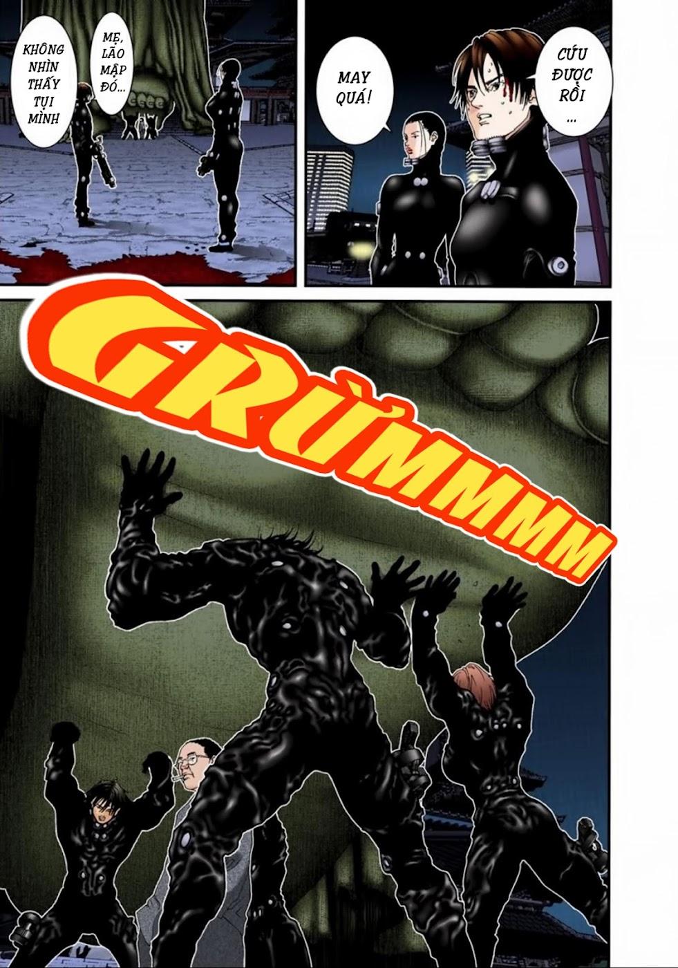 Gantz Chap 71: Tượng phật khổng lồ trang 9