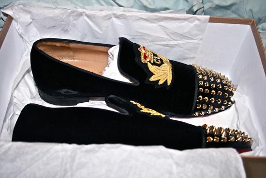 Christian Louboutin Paris Mens Shoes