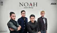 lirik chord kunci gitar Jalani Mimpi - Noah