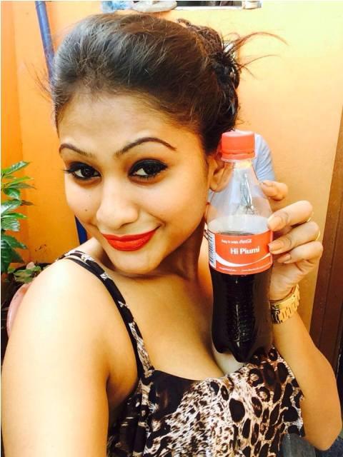 Piumi Hansamali coca cola pictures