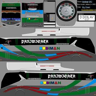 Download Livery Bus Budiman