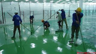 Quy trình thi công sơn epoxy tự san phẳng