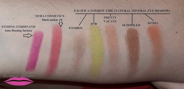 SWATCHES PRODUCTOS IPSY JUNIO 2018