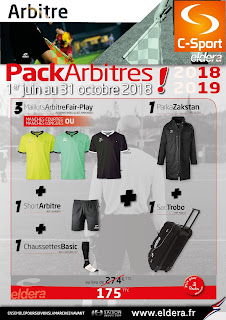 Packs Arbitre complet Eldera 2018