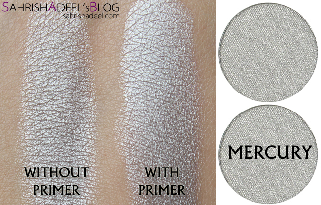 Makeup Geek Pressed Eyeshadows - Mercury
