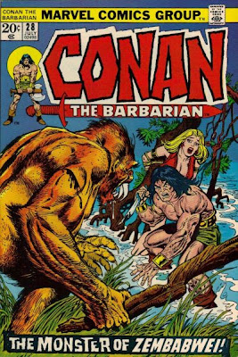 Conan the Barbarian #28, Beast of Zembabwei