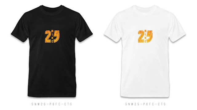 SNM25-P6FC-CTS Number & Name T Shirt Design, Custom T Shirt Printing