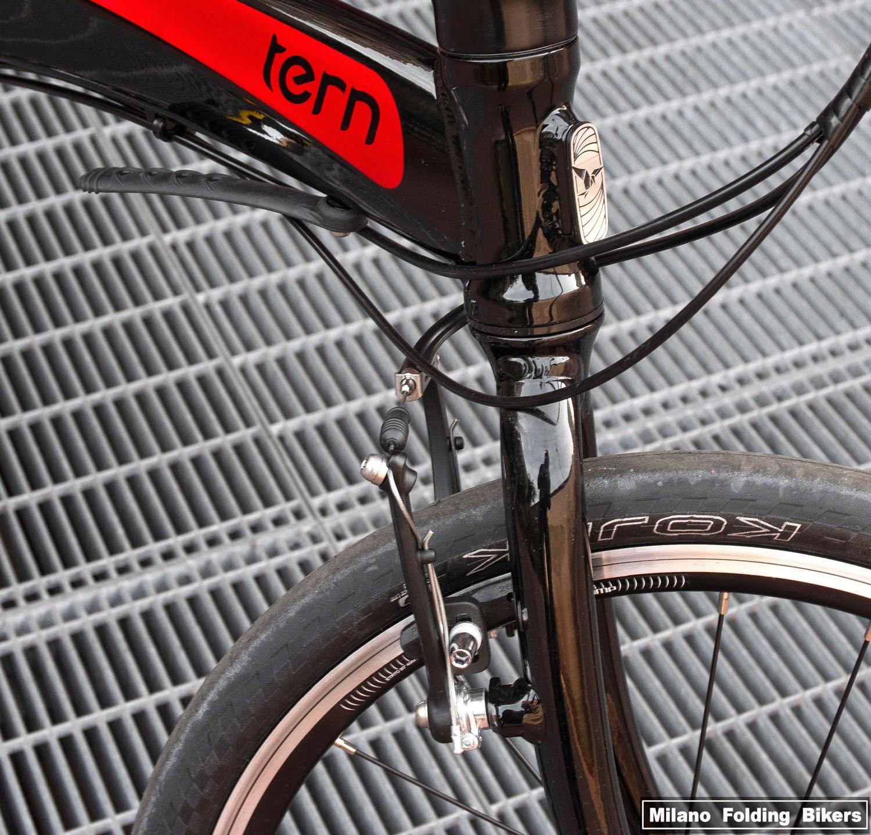 Bici Pieghevole Tern Link P9.Milano Folding Bikers Tern Verge P9