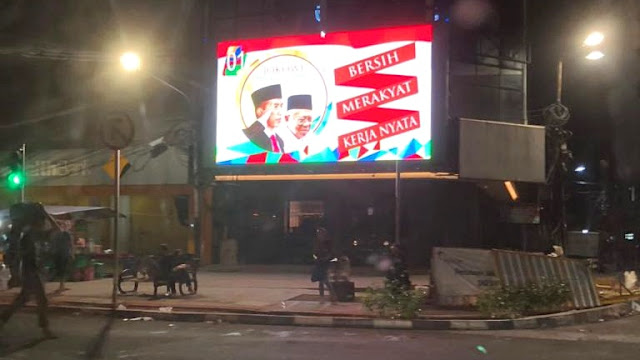 Sidang Bawaslu DKI Memutuskan Kasus Videotron Jokowi-Ma'ruf Melanggar Aturan Kampanye