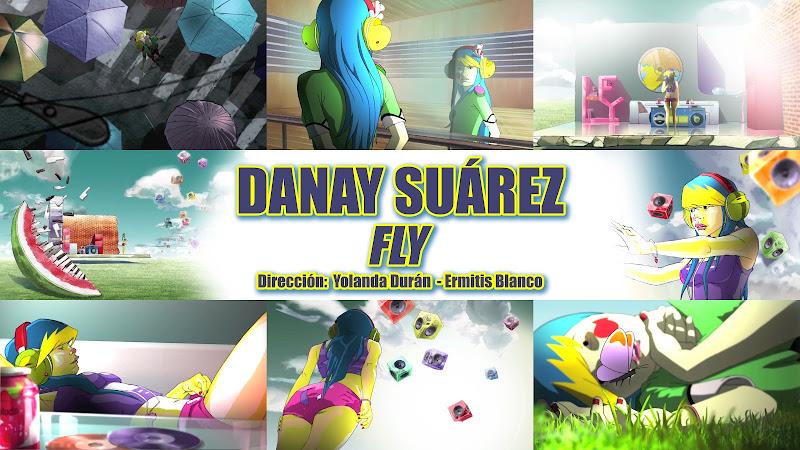Danay Suárez - ¨Fly¨ - Dibujo Animado - Videoclip - Dirección: Yolanda Durán - Ermitis Blanco. Portal Del Vídeo Clip Cubano