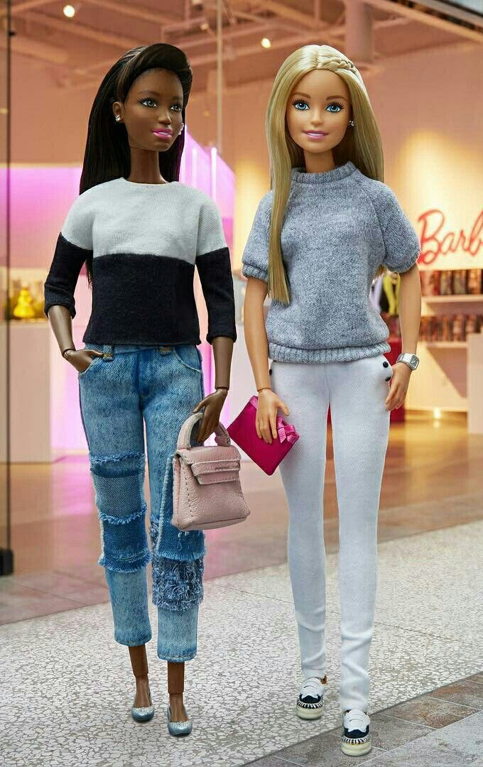 Looks da boneca Barbie