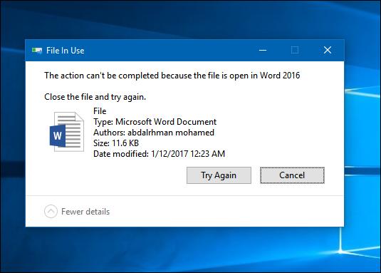 كيفية-حذف-الملفات-التي-لاتحذف