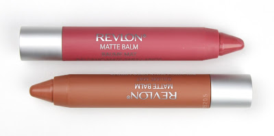Revlon Matte Balm in Enchanting and Elusive review swatch swatches
