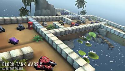 block tank wars 2 apk