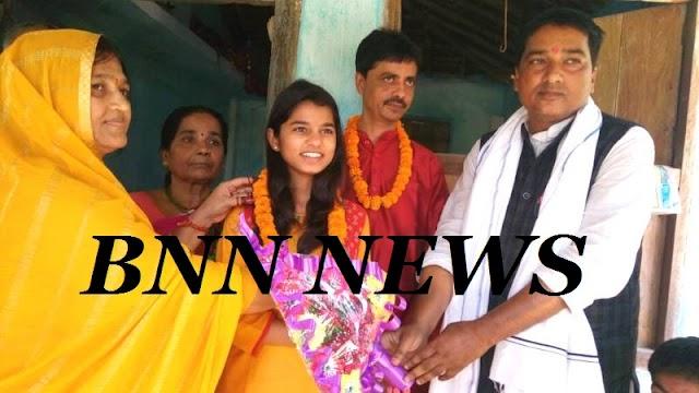 राईजिंग स्टार की उपविजेता मैथिली का हुआ स्वागत