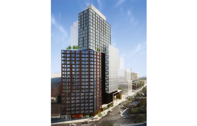 Torre B2 en Atlantic Yards - Brooklyn - Nueva York