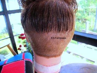Hiusten Leikkaus Koneella