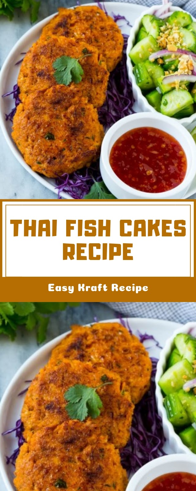 THAI FISH CAKES RECIPE