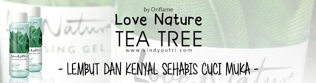 Love Nature Tea Tree Oily Skin by Oriflame Review