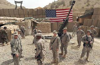 θέσεις του αμερικανικού στρατού στη Συρία