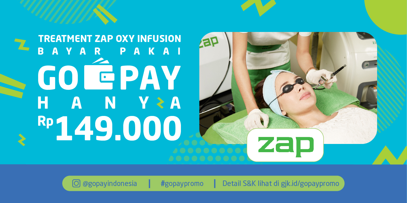 Gojek - Promo ZAP Clinic Cuma 149 Ribu Pakai GO-PAY (s.d 31 Okt 2018)