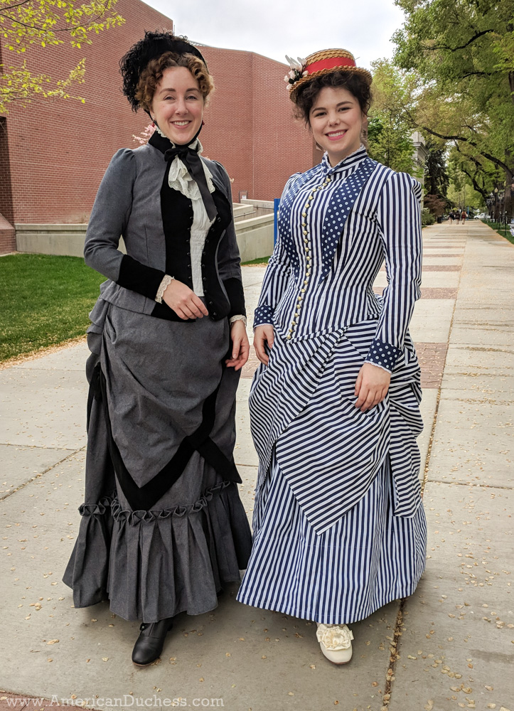 09538dd9a7 An 1880s Bodice Plastron - Refit ~ American Duchess