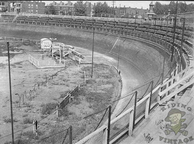The Motordrome Board Track Motorcycle Racing Riding
