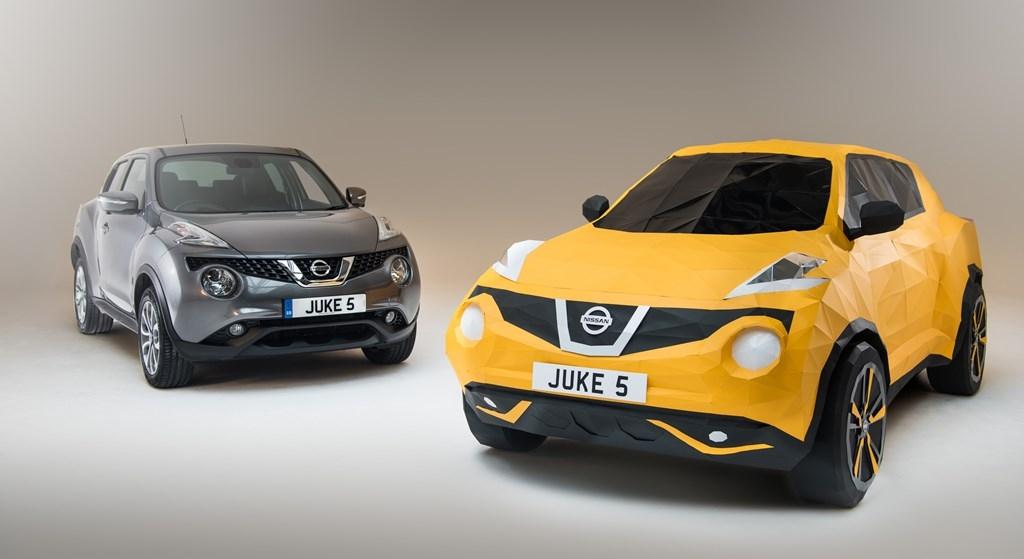 juke5 H Nissan το τερμάτισε: Έφτιαξε Juke από... χαρτί Nissan, Nissan Juke