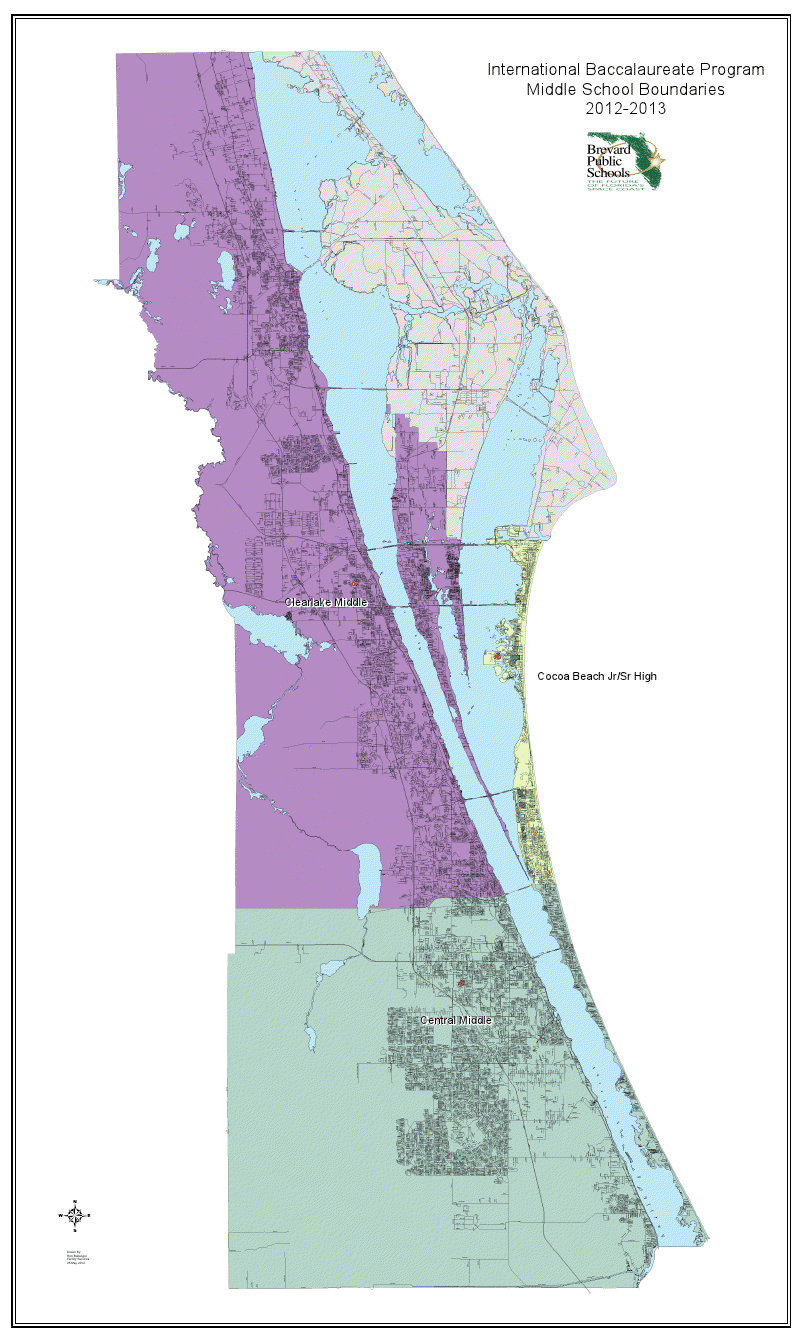 General Information and Procedure | Heart of Brevard  |Brevard County Area Map