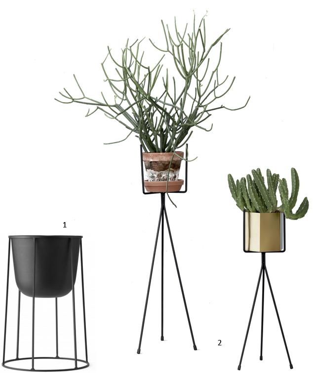 Support a cache pot