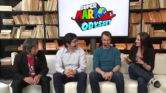 Super Mario Odyssey Nintendo Treehouse Live Shigeru Miyamoto Nate Bihldorff Samantha Robertson
